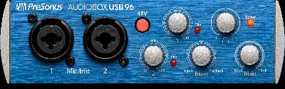 PreSonus Introduces AudioBox USB 96 and AudioBox 96 Studio Recording Kit
