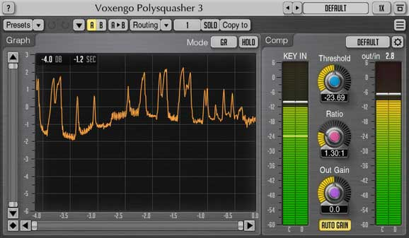 Voxengo Polysquasher 3.0 Mastering Compressor Plugin Released