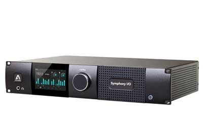 Apogee's Flagship Symphony I/O Mk II Audio Interface is Now Available with Waves SoundGrid® Connectivity