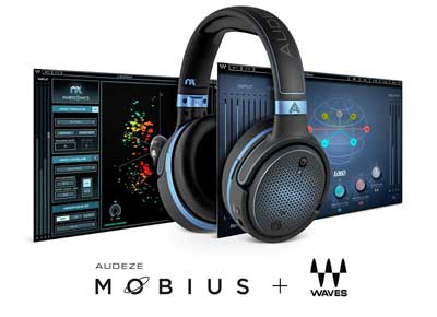 Waves Audio and Audeze Announce Audeze Mobius Headphones with Waves Nx 3D Audio Technology