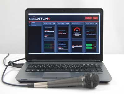 Logitek Adds Simple Management to JetLink Remote Audio System