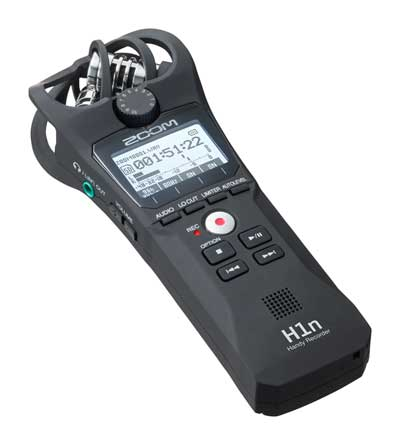Zoom's New H1n Handy Recorder Offers Essential Audio Recording Features and a Sleek, Portable Design