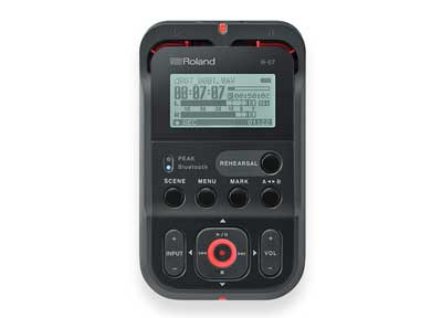 Roland R-07 High-Resolution Audio Recorder Now Available