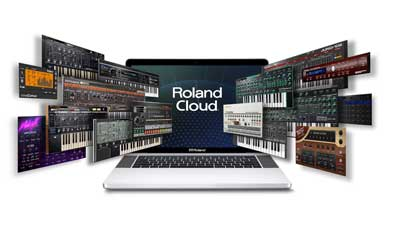 RolandCloud AAX Support Image Blue