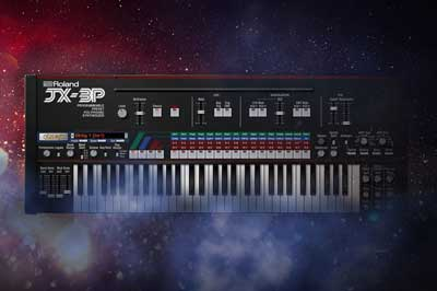 Roland Virtual Sonics Announces the Addition of the JX-3P to Its Legendary Series
