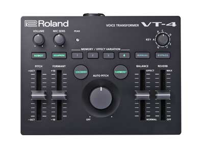 Roland Announces VT-4 Voice Transformer