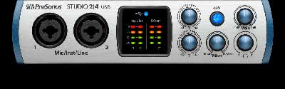 PreSonus Delivers Studio 2|4 USB-C Portable Interface