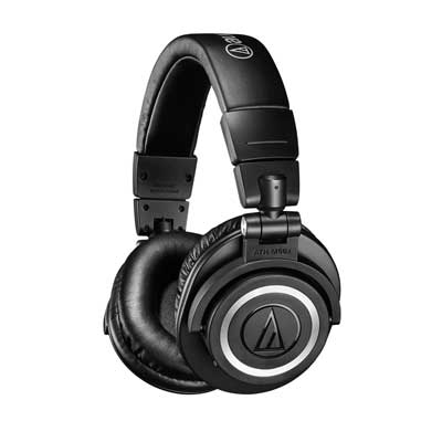 Audio-Technica Introduces ATH-M50xBT Wireless Over-Ear Headphones with Bluetooth