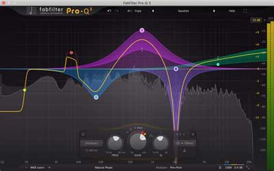 FabFilter releases FabFilter Pro-Q 3 equalizer plug-in with dynamic EQ