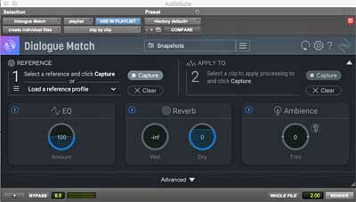 iZotope Launches Dialogue Match