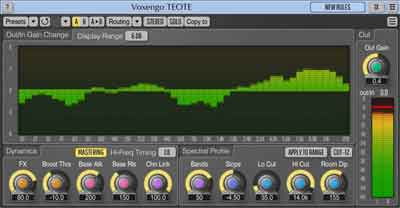 Voxengo TEOTE spectral balancer plugin released